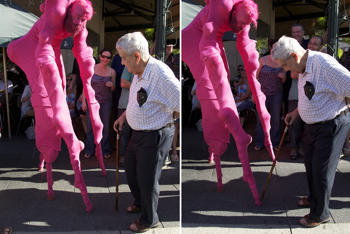 2012 Fremantle Street Arts Festival, Pink, Invasion