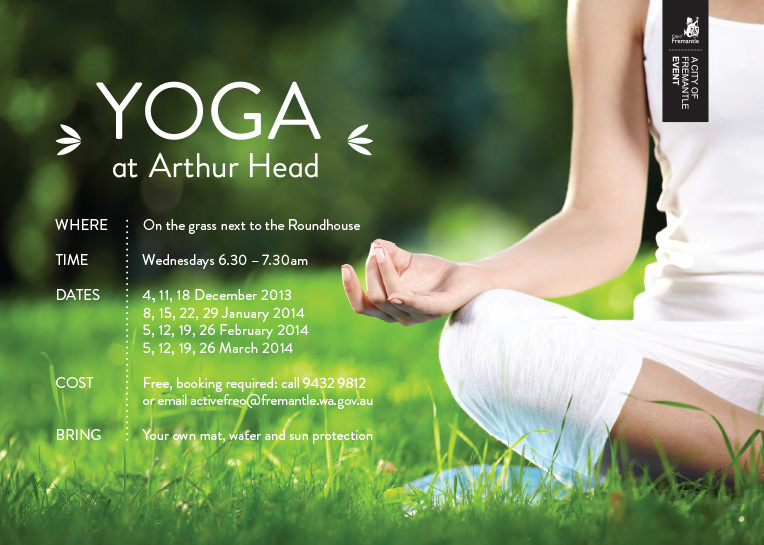 Yoga at Arthur Head