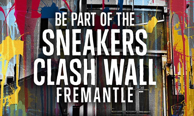 Sneakers Clash Wall Fremantle