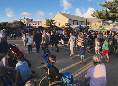 Bathers Beach Sunset Markets