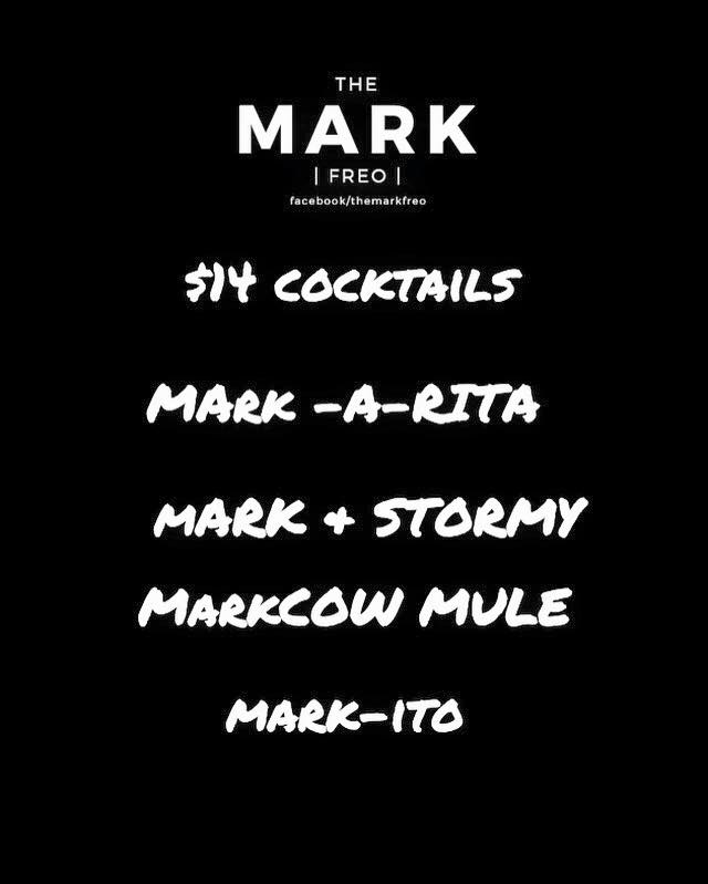 The Mark Freo Cocktails